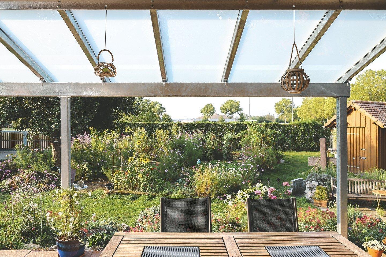 Baugenehmigung für Terrassenüberdachung in Hessen